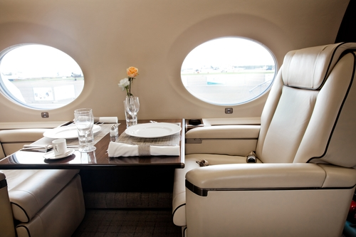luxury flights
